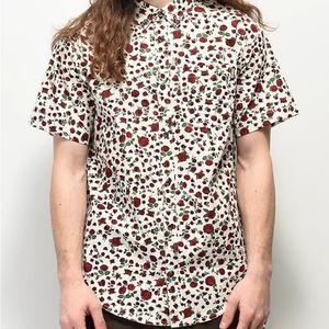 Dravus short sleeve button down shirt,  Large